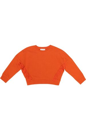 Stella McCartney Felpa in cotone cropped