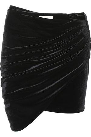 ALEXANDRE VAUTHIER Minigonna in velluto