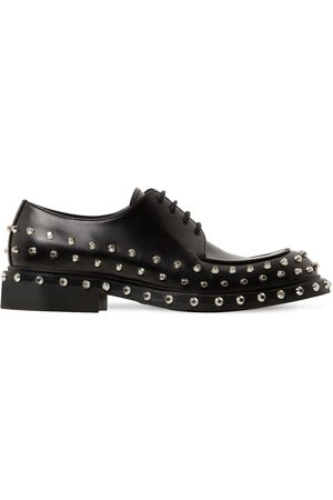 Prada Scarpe Oxford In Pelle Con Borchie