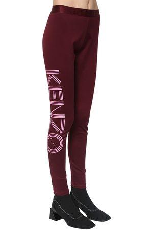 Kenzo Leggings In Cotone Stretch