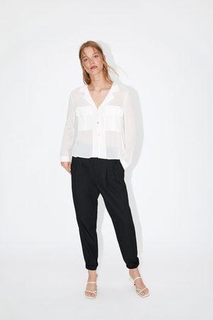Zara Camicia con tasche