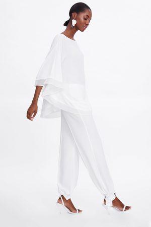 Zara Camicetta morbida design a mantella
