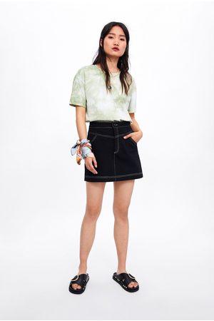 Zara Minigonna con cuciture