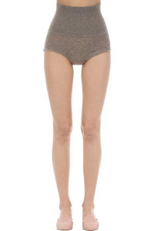 """Khaite Shorts """"belinda"""" In Maglia Di Cashmere"""