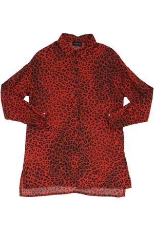 MONNALISA Camicia In Viscosa Leopard