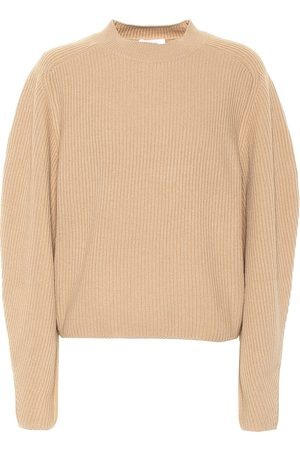 Chloé Pullover a costine in lana e cashmere