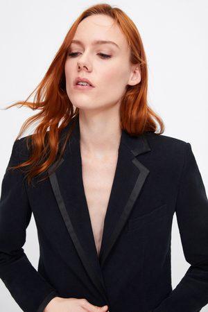 Zara Blazer velluto combinato