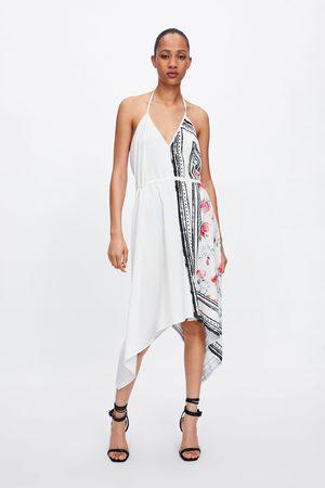 Zara Vestito asimmetrico combinato