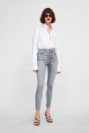 Zara Jeans zw premium 80's high waist silver lake