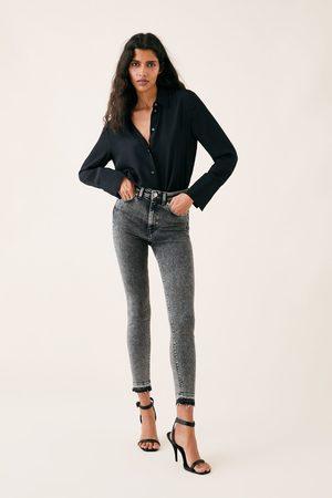 Zara Jeans zw premium 80´s high waist snow black
