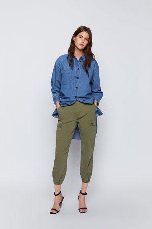 Zara Pantaloni zw premium cargo