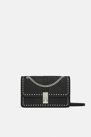 Zara Borsa a tracolla con borchie