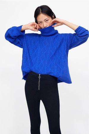 Zara Donna Slim & Skinny - Jeggings skinny con cerniera