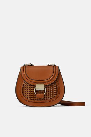 Zara Donna A tracolla - Borsa a tracolla ovale con anello