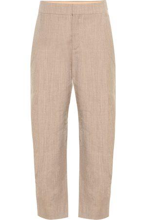 Chloé Pantaloni stretch in lana