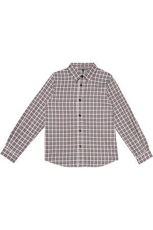 BONPOINT Camicia a quadri in cotone