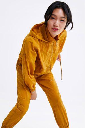 Zara Pantaloni jogger effetto stropicciato