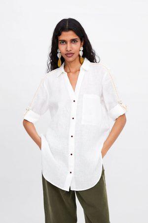 l'atteggiamento migliore 61e34 3480e Camicia lino