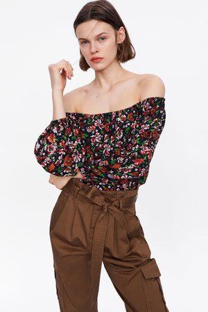 Zara Camicetta con stampa floreale