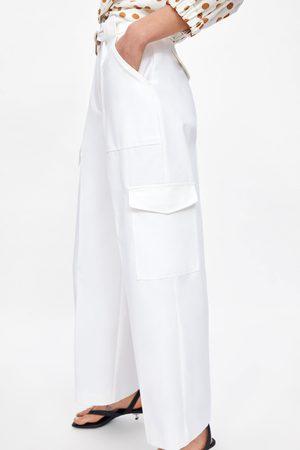 Zara Donna Cargo - Pantaloni cargo tasche