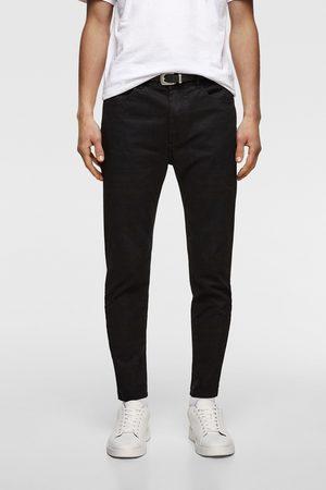 Zara Pantaloni superskinny cintura