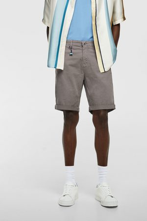 Zara Uomo Pantaloncini - Bermuda twill