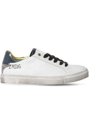 Zadig & Voltaire Sneakers In Pelle