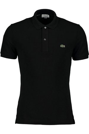 Lacoste Polo nera slim fit