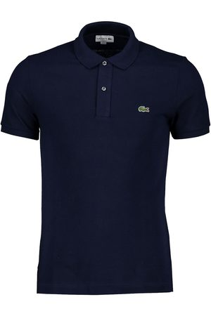 Lacoste Polo blu slim fit