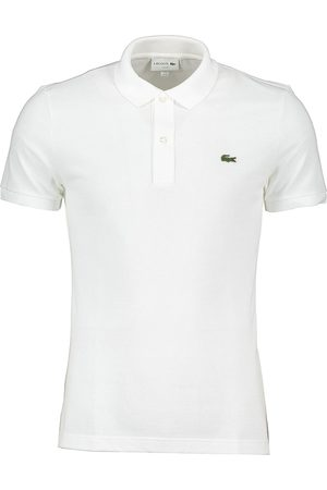 Lacoste Polo bianca slim fit