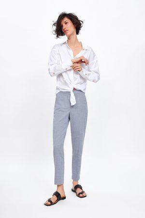 Zara Donna Slim & Skinny - Pantaloni a sigaretta jaspé