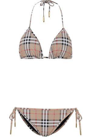 Burberry Bikini a quadri Vintage Check