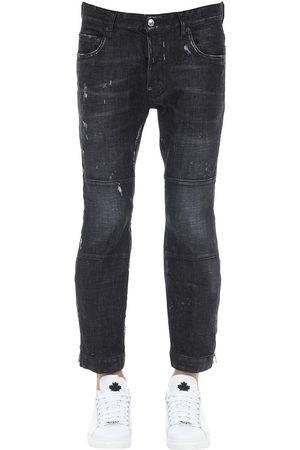 Dsquared2 Jeans Ski-biker In Denim 15cm