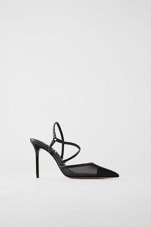 Zara Donna Scarpe con i tacchi - Scarpa tacco rete