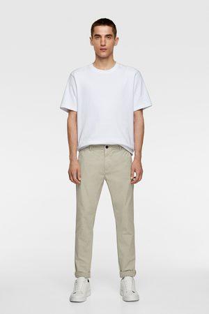 Zara Uomo Chinos - Pantaloni chino skinny