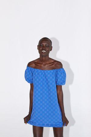 Zara Vestito traforato con texture