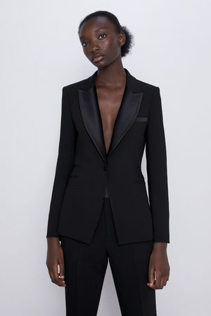 Zara Blazer stile smoking revers