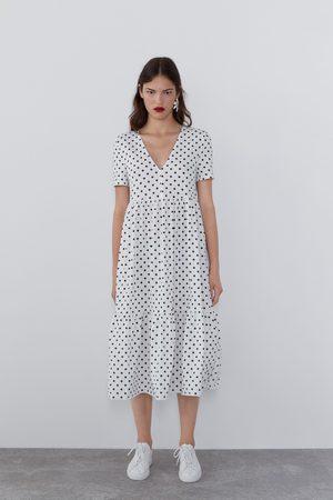 Zara Vestito morbido stampato