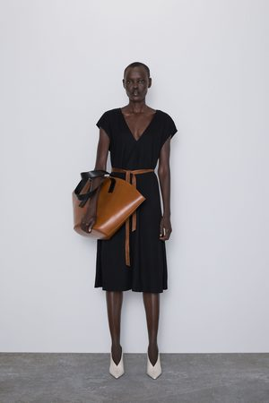 Zara Vestito midi cintura
