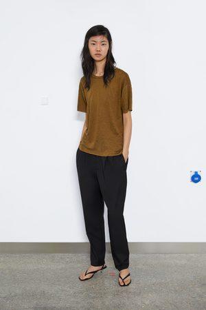 Zara Maglietta lino
