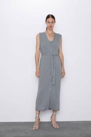 Zara Gilet vestito in maglia