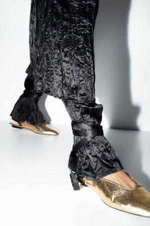 Zara Donna Ballerine - Ballerine metallizzate legate