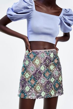 Zara Gonna mini paillettes