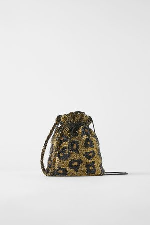 Zara Borsa a secchiello perline