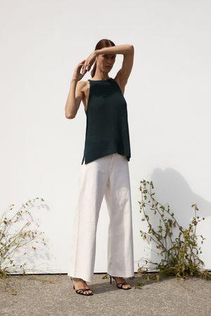 Zara Top in maglia halter