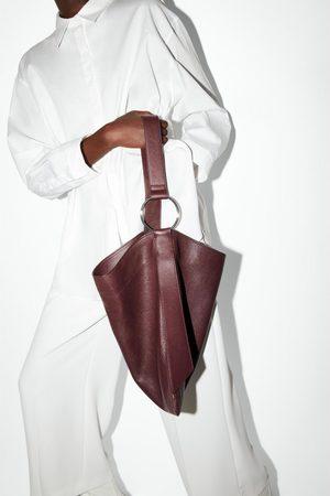Zara Borsa shopper in pelle piatta