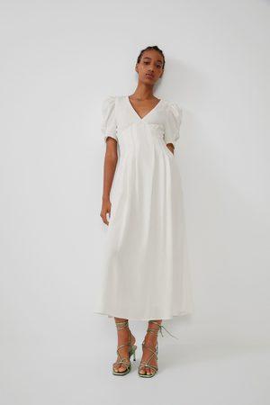 Zara Vestito strutturato voluminoso