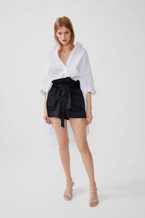 Zara Shorts militari con cintura