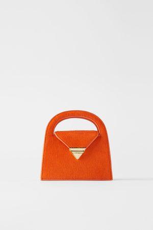 Zara Mini city bag in pelle