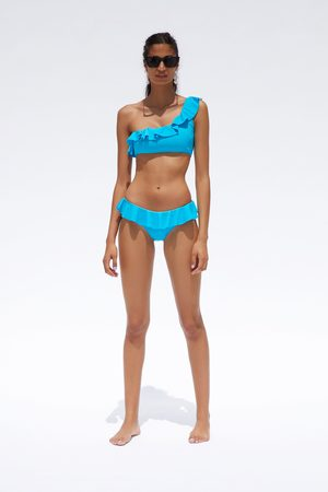 Zara Slip bikini con volant